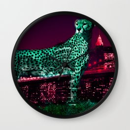 Mildred I by Naoma Serna Wall Clock