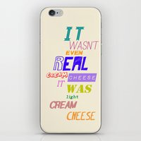 dana scully iPhone & iPod Skins featuring Dana Scully - Bad Blood by Laura