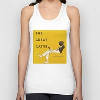 great gatsby Tank Tops featuring The Great Gatsby by MW. [by Mathius Wilder]