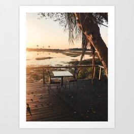 Okavango Delta, Botswana Art Print