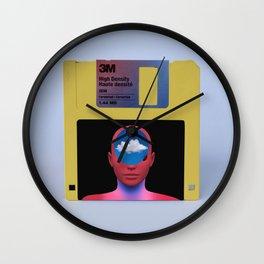 Floppy Fantasy Wall Clock