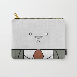 Business Cat Cube Carry-All Pouch