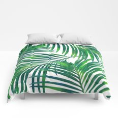 Palm Paradise #society6 #decor #buyart Comforters