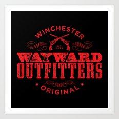 Wayward Outfitters Art Print