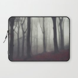 bonds - foggy forest scene Laptop Sleeve