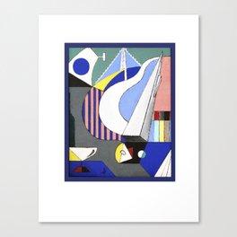 City Vibe (Blue) Canvas Print