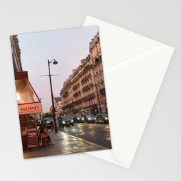 Paris at Night Stationery Cards