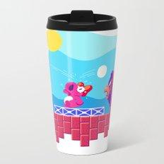 Teeny Tiny Worlds - Super Mario Bros. 2: Birdo Metal Travel Mug