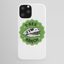 T-Rex Ranch iPhone Case