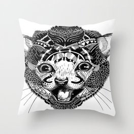 GAT. Throw Pillow
