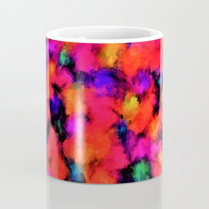 Bright Rainbow Colors Coffee Mug