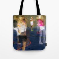 sport Tote Bags featuring Sport by Egle Tuleikyte