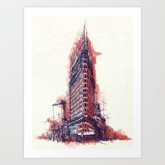 Flatiron Art Print
