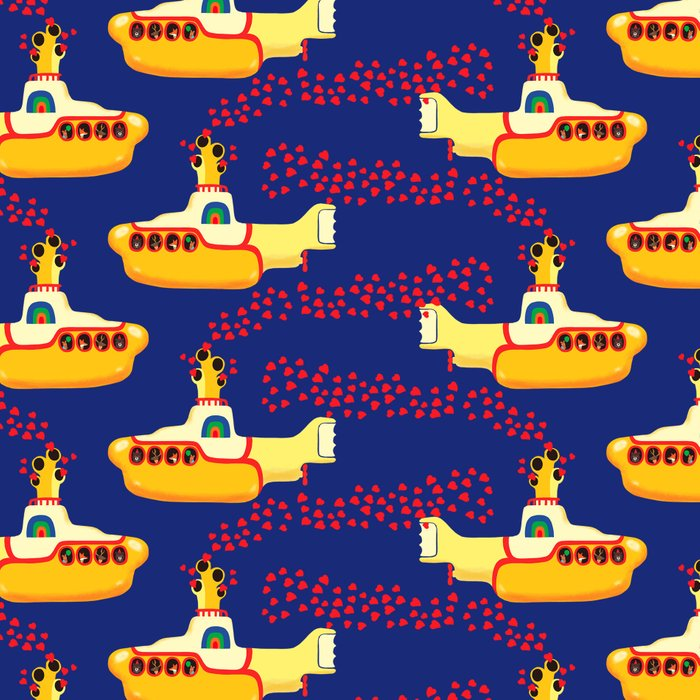Yellow Submarine Bubbling Love Leggings