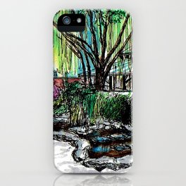 Pei Ling Chan Gallery iPhone Case