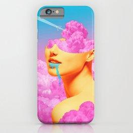 Pink Cloud Meta Woman iPhone Case