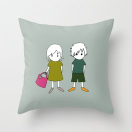 Olli & Olivia Throw Pillow
