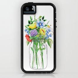 Flowers in a Jar iPhone Case