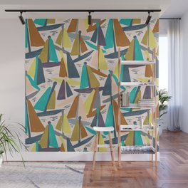 Sydney Harbour Yachts Wall Mural