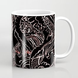 The Squid and the Feather Coffee Mug