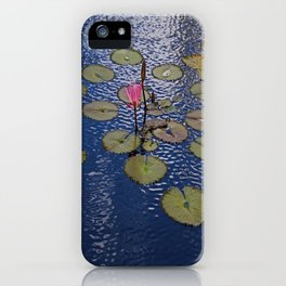 Lily in the Infinity Garden iPhone Case
