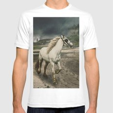 The Gypsy Wanderer MEDIUM Mens Fitted Tee White