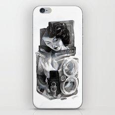 Bunny Blue iPhone & iPod Skin