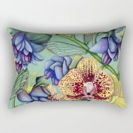 Lost Wing In Bloom Rectangular Pillow