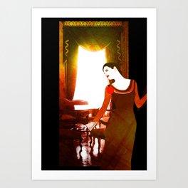 Sarayda Art Print