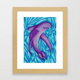 Purple Fin - Mazuir Ross Framed Art Print
