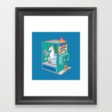 Ice Cream Rainbow Framed Art Print