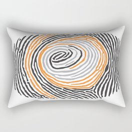 ocular fingerprint Rectangular Pillow