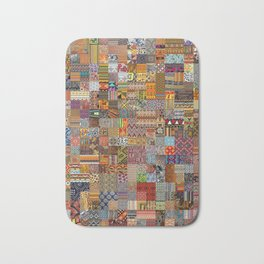 Ethnic Patterns Bath Mat