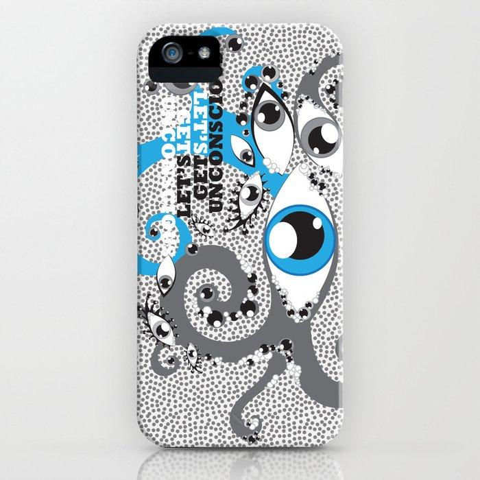 Let's Get Uncoscious iPhone Case