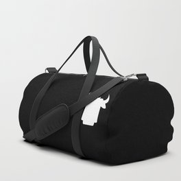 Apple's Cow Duffle Bag