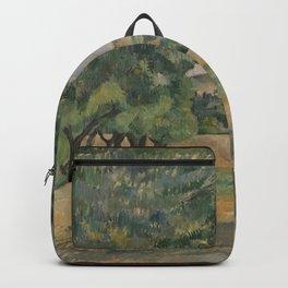 Paul Cézanne - The Neighborhood of Jas de Bouffan Backpack