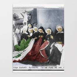Italian Nuns Poster