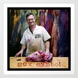 Sex Symbol Art Print