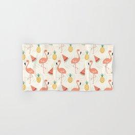 Watermelon Flamingo Pineapple Hand & Bath Towel