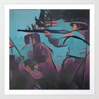 Soldier I - WW2 Art Print