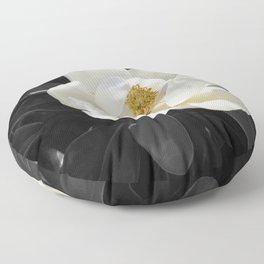 Steel Magnolias - Sweet scented white Magnolia flower Floor Pillow
