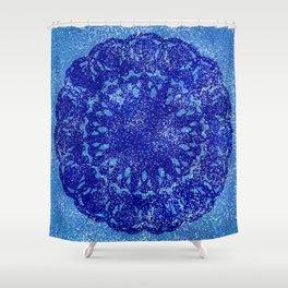 Overlay Mandala Shower Curtain