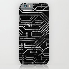 Circuit, tech electronics iPhone Case