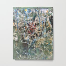 Berlin Graffiti-Painted Metal Print
