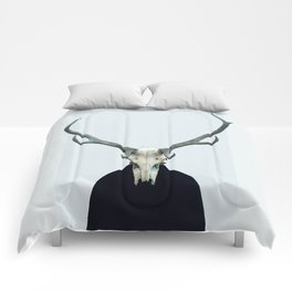 Living Skull and Horns Comforters