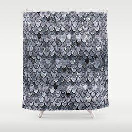 MAGIC MERMAID CLASSIC GREY by Monika Strigel Shower Curtain