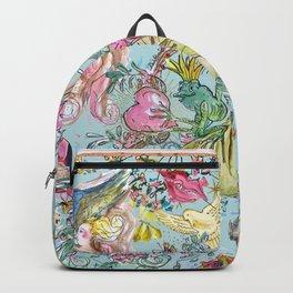Garden of Eden blue sky Backpack