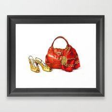 Accessories Framed Art Print