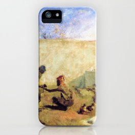 Moroccan Horseshoer - Digital Remastered Edition iPhone Case