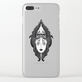 She Devil Clear iPhone Case